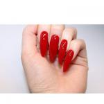 long fancy nails
