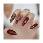 fancy extra long nails