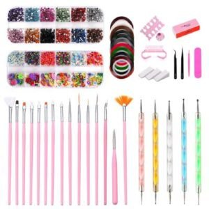manicure brush for acrylic nails