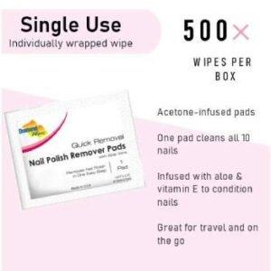 reusable nail polish remover pads
