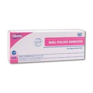 nail polish remover cotton pads
