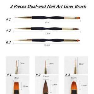 nail art liner polish set