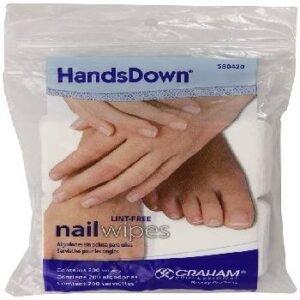 acetone nail polish remover pads