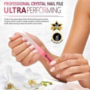 glass nail files wholesale