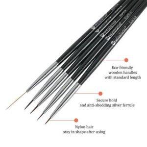 nail polish liner brush