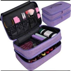 portable nail polish organizer