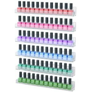 nail polish rack acrylic