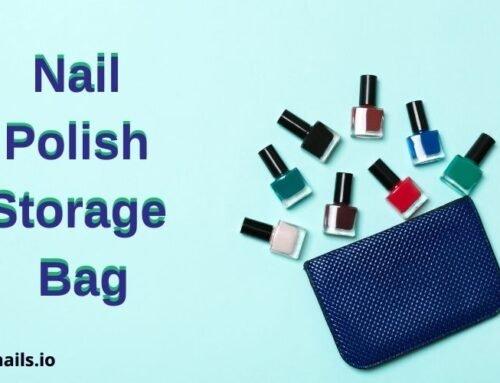 Nail Polish Storage Bag