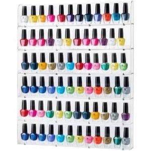 nail polish rack amazon